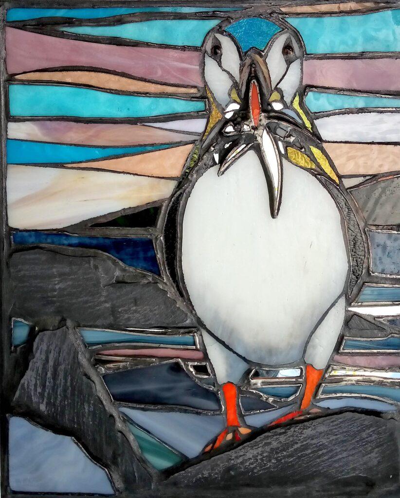 puffin art
