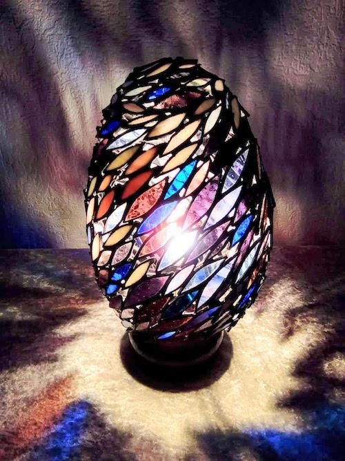 baitball egg lamp