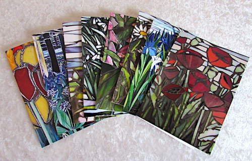 flower range of greetings cards