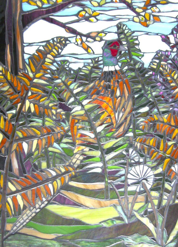 pheasant in the ferns art
