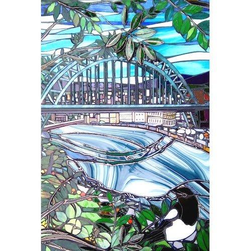 Tyne Bridge with Magpie