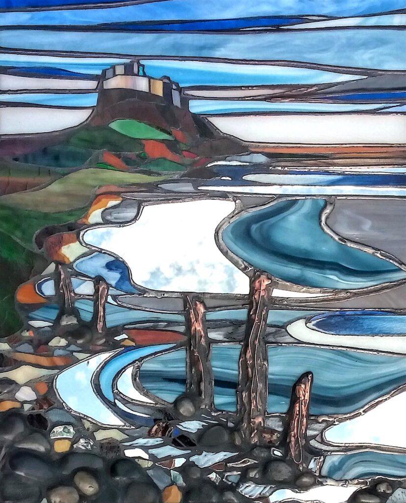 Holy Island art